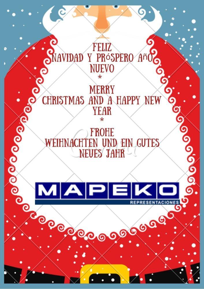 Feliz Navidad y Próspero Año Nuevo _ Merry Christmas and a Happy New Year _ Frohe Weihnachten und ein gutes Neues Jahr